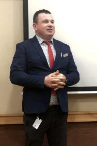 Hilton Technical Manager János Szenáki